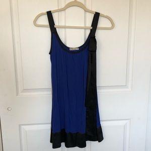 Forever 21 Blue & Black Dress